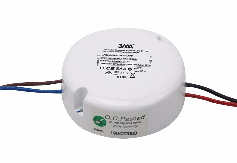 Round Triac/Phase-cut dim,LED driver