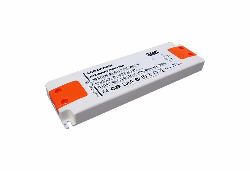 Super slim-plastic casing LED driver